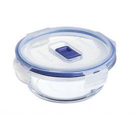 Boîte avec couvercle ronde transparente verre 42 cl Ø 13,85 cm Pure Box Active Luminarc