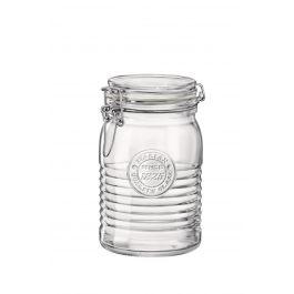 Bocal avec couvercle hermétique transparent verre 100 cl Ø 111 mm Officina 1825 Bormioli Rocco