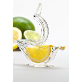 Presse-citron ovale transparent Pressart