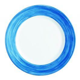Assiette plate ronde blue jean verre Ø 19,50 cm Brush Arcoroc