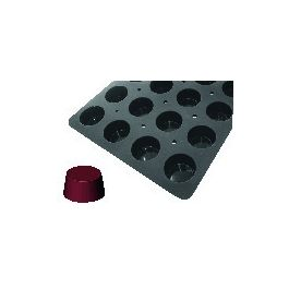 Plaque gn 1/1 24 muffins silicone gn 1/1 12,20 cl Moulflex Pro De Buyer