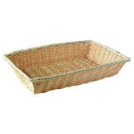 Corbeille beige 28x40 cm 8 cm