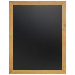 Ardoise murale rectangulaire noir 60 cm x 80 cm Classique Securit