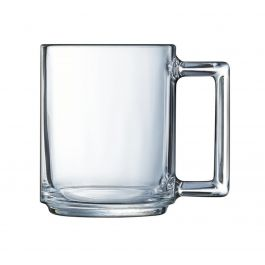 Mug droit transparent verre 25 cl Ø 7,20 cm A La Bonne Heure Luminarc
