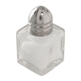Salière / poivrière transparente 5,10 cm