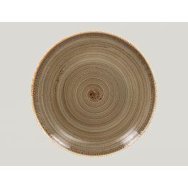 Assiette coupe plate ronde alga porcelaine Ø 31 cm Twirl Rak