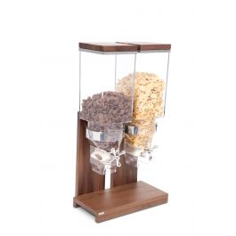 Distributeur à céréales bois 2,80 l Nature Zepe