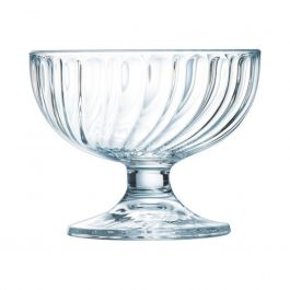 Coupe à glace ronde transparente verre 38 cl Ø 11,70 cm Sorbet Arcoroc