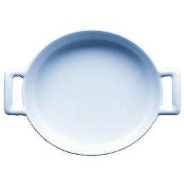 Cassolette ovale blanc porcelaine 13x14,50 cm Belle Cuisine Revol