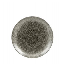 Assiette plate rond quartz porcelaine Ø 21,70 cm Raku Churchill