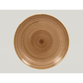 Assiette coupe plate ronde shell porcelaine Ø 31 cm Twirl Rak