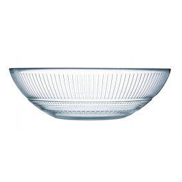 Bol rond transparent verre 98 cl Ø 20 cm Louison Luminarc