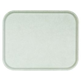 Plateau gris polyester bord droit Poly One Platex