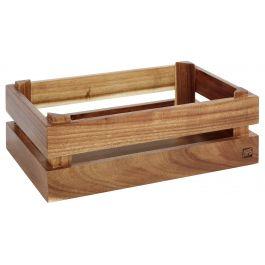 Caisse gn 1/4 rectangulaire bois 29 cm Superbox Aps