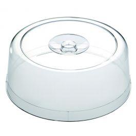 Cloche ronde transparente plastique Ø 30 cm Aps