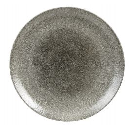 Assiette plate rond quartz porcelaine Ø 28,80 cm Raku Churchill