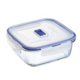 Boîte avec couvercle carrée transparente verre 122 cl 17,64 cm Pure Box Active Luminarc