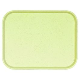 Plateau vanille polyester bord droit Poly One Platex