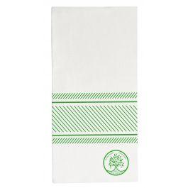 Serviette blanc spunlaid 10x20 cm Soft Tiss Pro.mundi (40 pièces)