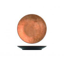 Plateau rond cuivre mélamine Ø 26 cm Utah Copper Creative Display