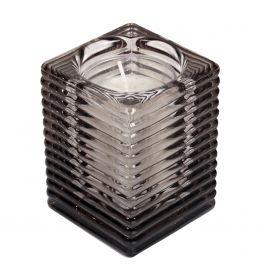 Photophore rectangulaire gris 9,80 cm Spaas (6 pièces)