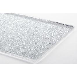 Plat de présentation rectangulaire transparent plastique 40 cm Pap 2 Platex