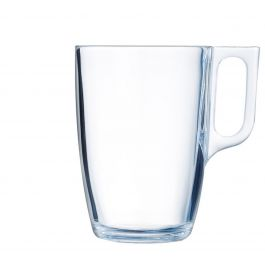 Mug rond transparent verre 40 cl Ø 11,10 cm Voluto Arcoroc
