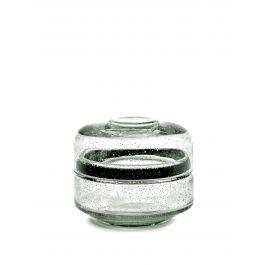 Bonbonnière verre Ø 12 cm Serax