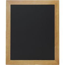 Ardoise murale rectangulaire noir 50 cm x 60 cm Classique Securit