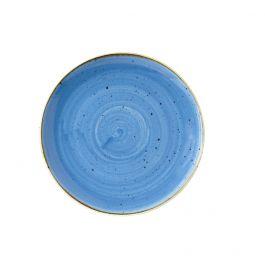 Assiette coupe plate ronde cornflower porcelaine Ø 27,70 cm Stonecast Churchill
