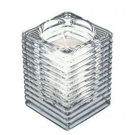 Photophore rectangulaire transparent 9,80 cm Spaas (6 pièces)