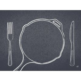 Set de table gris papier 40x30 cm Plate It Duni (250 pièces)