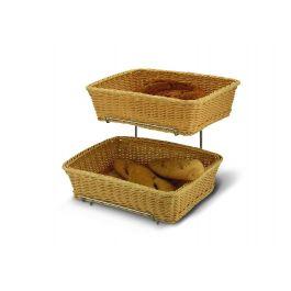 Présentoir à pain gris 36x40 cm 34 cm