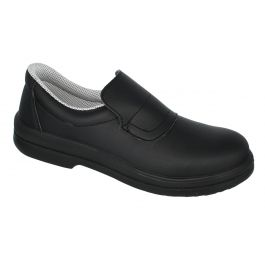 Chaussure mocassin de securite mixte noir pointure 37 Tony Nordways