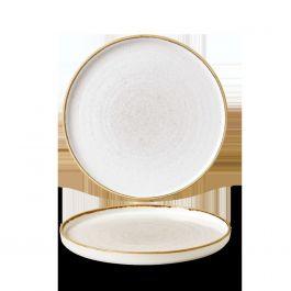 Assiette plate ronde barley porcelaine Ø 21 cm Stonecast Churchill