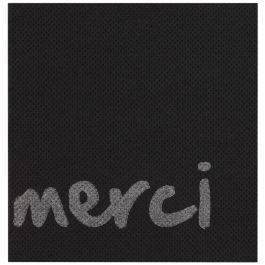 Serviette noir ouate de cellulose 20x20 cm Celi Ouate Cgmp (50 pièces)