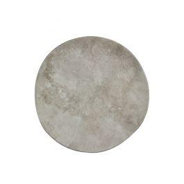 Assiette coupe plate rond beige grès Ø 27 cm Marble Pro.mundi