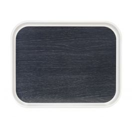Plateau gris polyester bord droit Poly Styl Platex