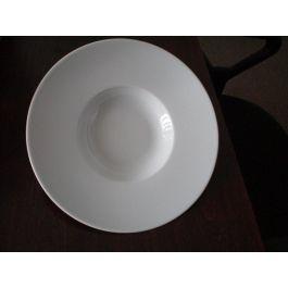 Assiette extra creuse ronde blanche Ø 27 cm Roma