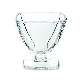 Coupe à dessert ronde transparente verre 19 cl Ø 8 cm Carat La Rochere