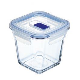 Boîte avec couvercle carrée transparente verre 75 cl 12 cm Pure Box Active Luminarc