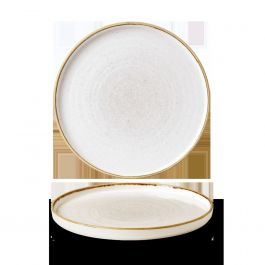 Assiette plate ronde barley porcelaine Ø 26 cm Stonecast Churchill