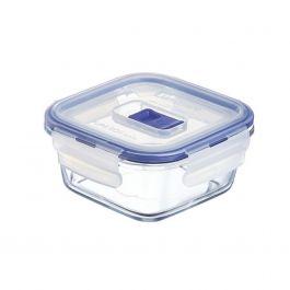 Boîte avec couvercle carrée transparente verre 38 cl 12 cm Pure Box Active Luminarc