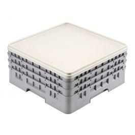 Couvercle pour casier plastique 49,90x49,90 cm Camrack Cambro