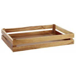 Caisse gn 1/1 rectangulaire bois 55,50 cm Superbox Aps