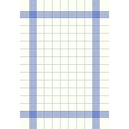 Torchon bleu non tissé 54x38 cm Torchon Carreau Duni (250 pièces)
