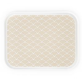 Plateau beige polyester bord droit Poly Styl Platex