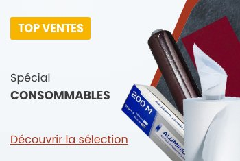 top ventes consommables